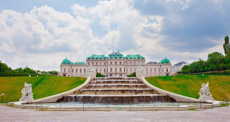 Belvedere Palace royalty-vrije stock afbeeldingen