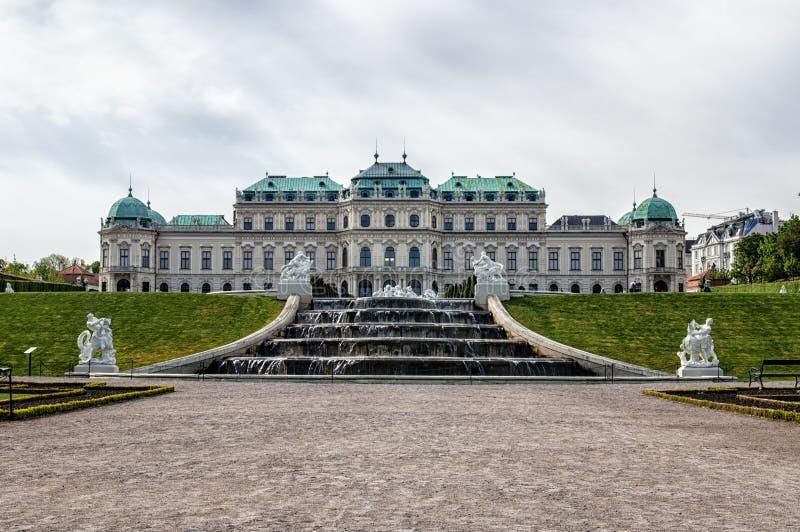 Belvedere Palace stock fotografie