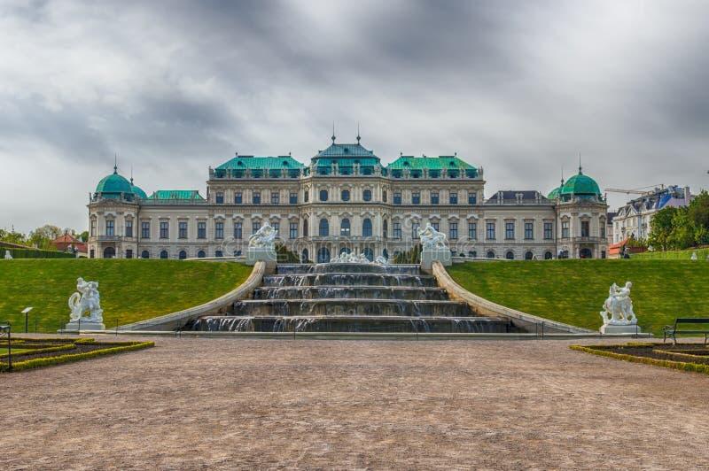 Belvedere Palace stock afbeelding