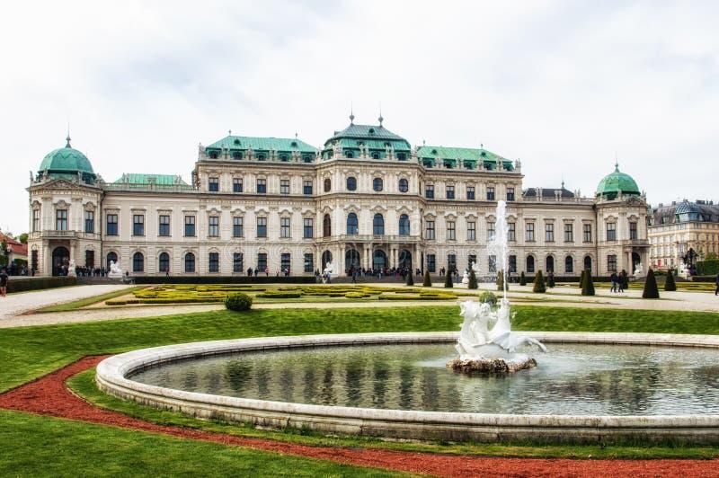 Belvedere Palace stock foto