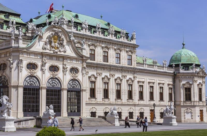 Belvedere Palace royalty-vrije stock foto