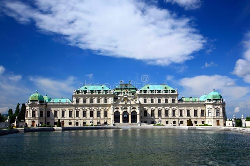 Belvedere Palace.Vienna stockfoto