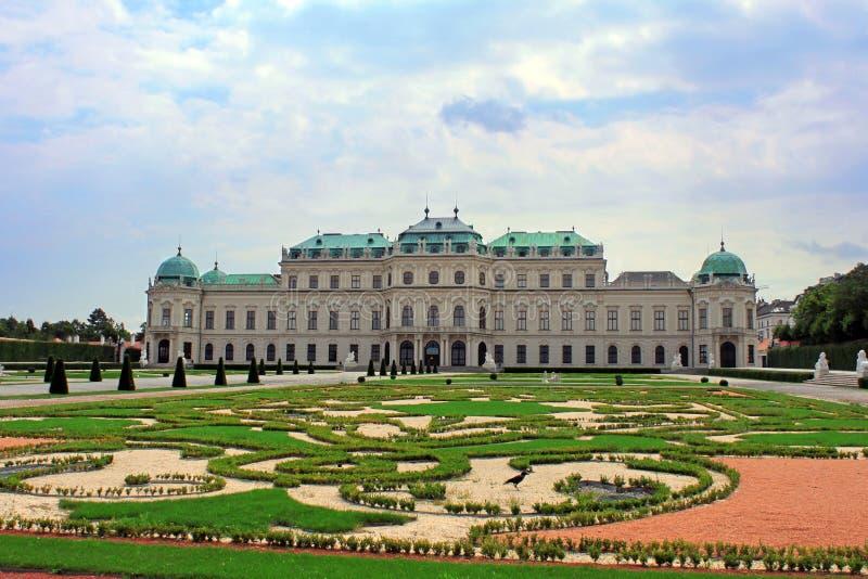 Belvedere palace, Vienna, Austria royalty free stock photos