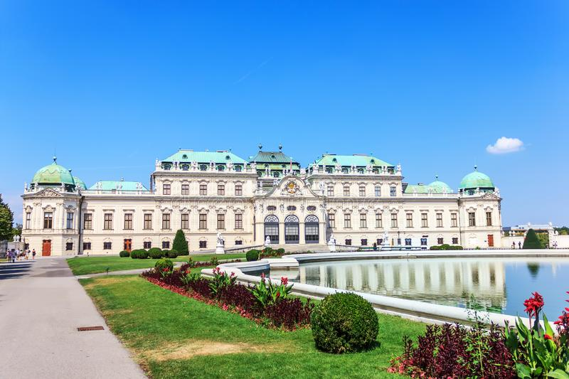 Summer Palace Belvedere In Vienna Stock Photo Image Of