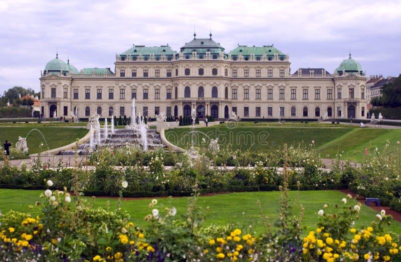 Belvedere-Palast-Komplex Wiens Österreich oberer stockfoto
