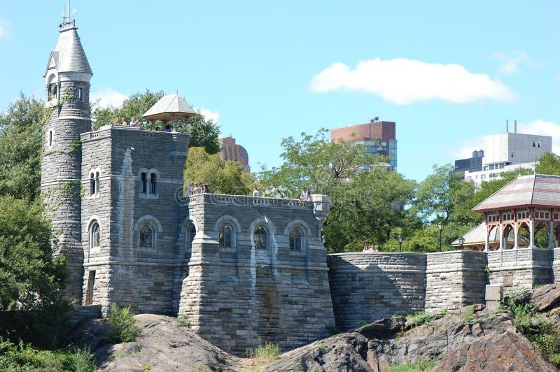Belvedere-Schloss in Central Park, New York City lizenzfreies stockbild