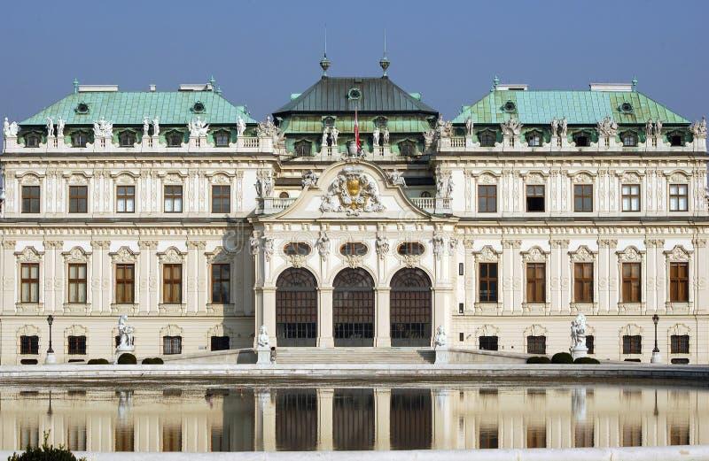 Belvedere-Schloss Wien lizenzfreies stockfoto