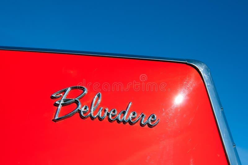 Belvedere van Plymouth royalty-vrije stock afbeelding