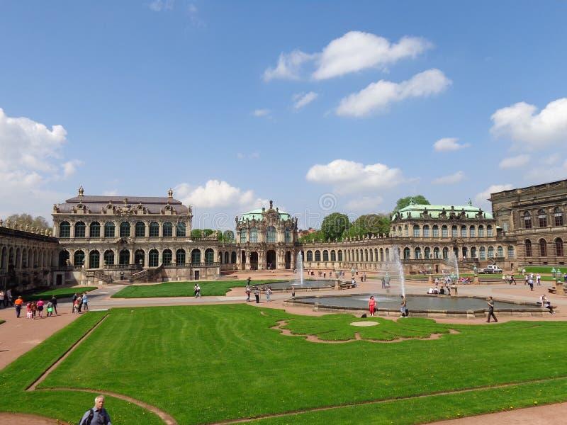 belvedere Viena Austria del palacio del parque fotos de archivo
