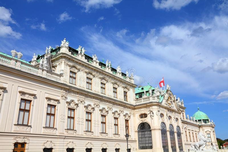 Belvedere, Vienna stock image