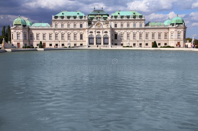Belvedere, Vienna royalty free stock images
