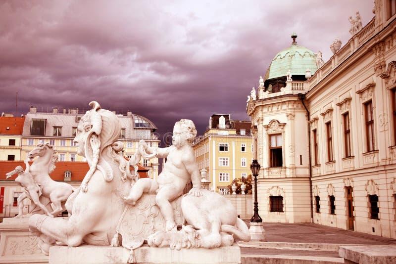 Belvedere, Vienna royalty free stock image