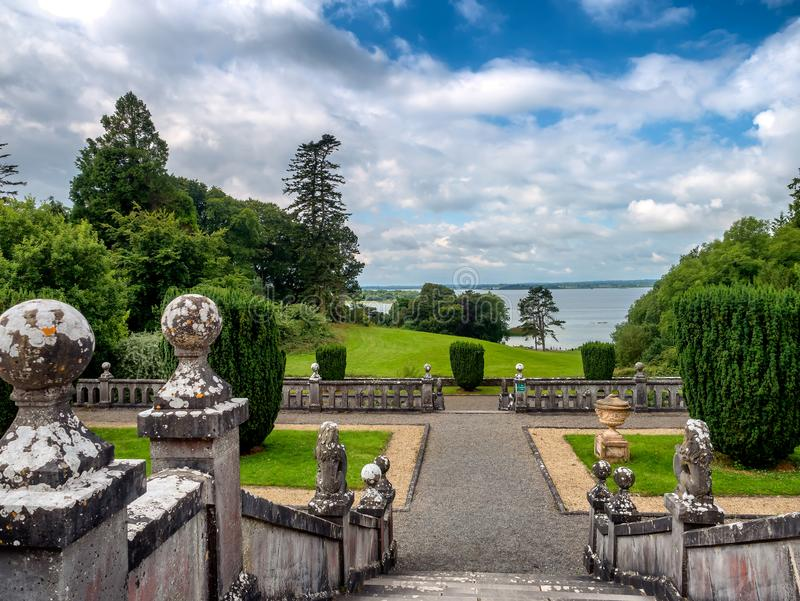 Belvederehausäußeres, Irland stockbild