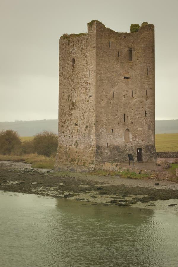Belvelly slott Ståndsmässig kork ireland royaltyfri fotografi