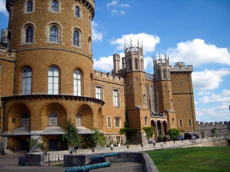 Belvoir城堡 库存照片