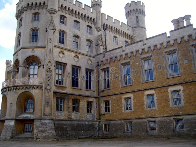 Belvoir Castle Rutland stock image