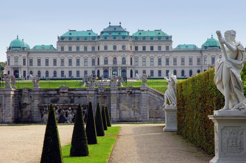 belweder grodowy Vienna fotografia stock