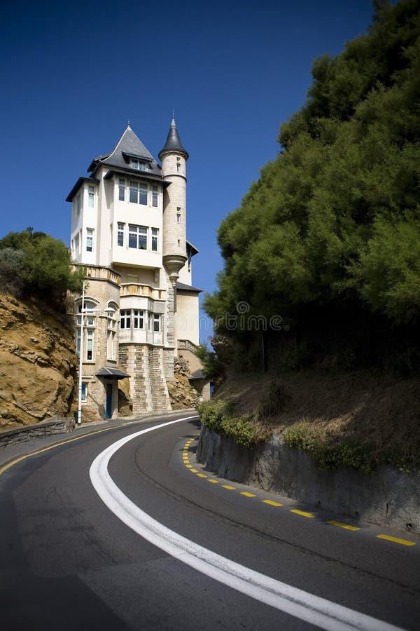 belza Biarritz willa obraz royalty free