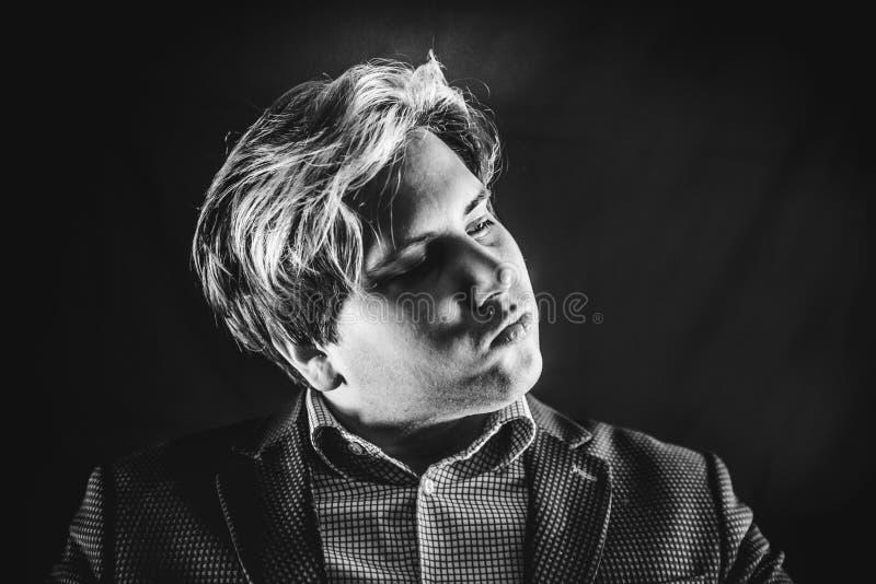 Bemannen Sie Portrait stockbilder