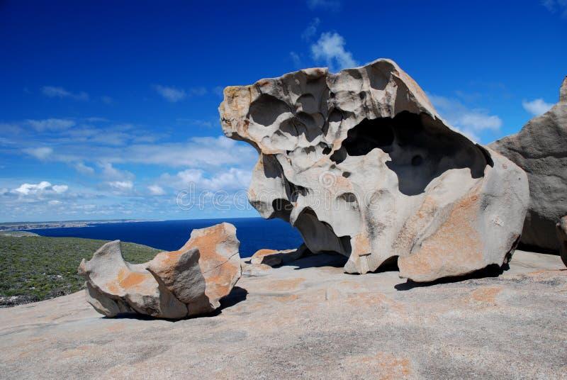 Bemerkenswerte Felsen lizenzfreie stockbilder