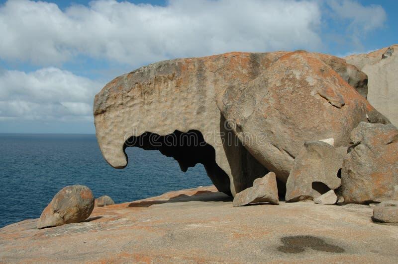 Bemerkenswerte Felsen Stockbild