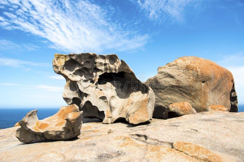 Bemerkenswerte Felsen, Australien stockbilder