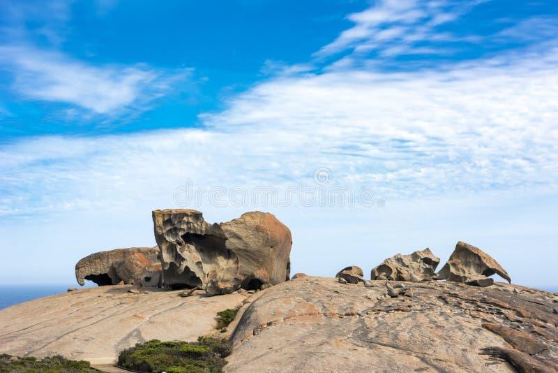 Bemerkenswerte Felsen, Australien lizenzfreies stockfoto