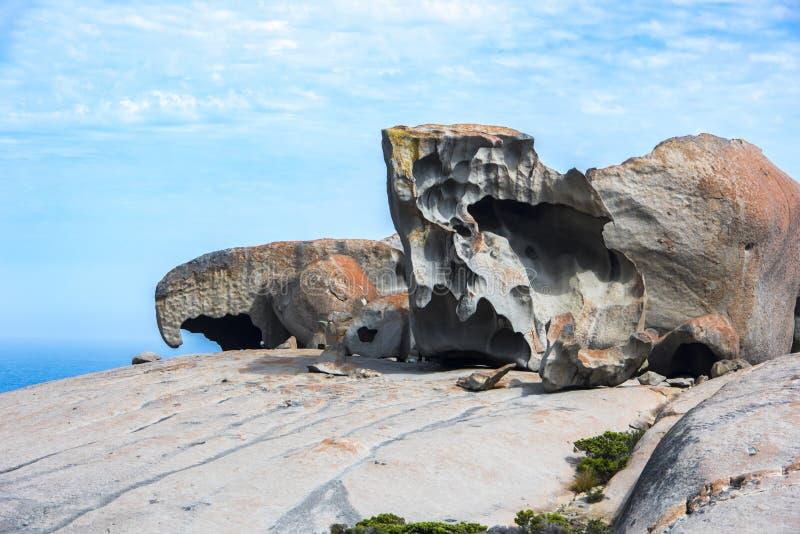Bemerkenswerte Felsen, Australien stockbild