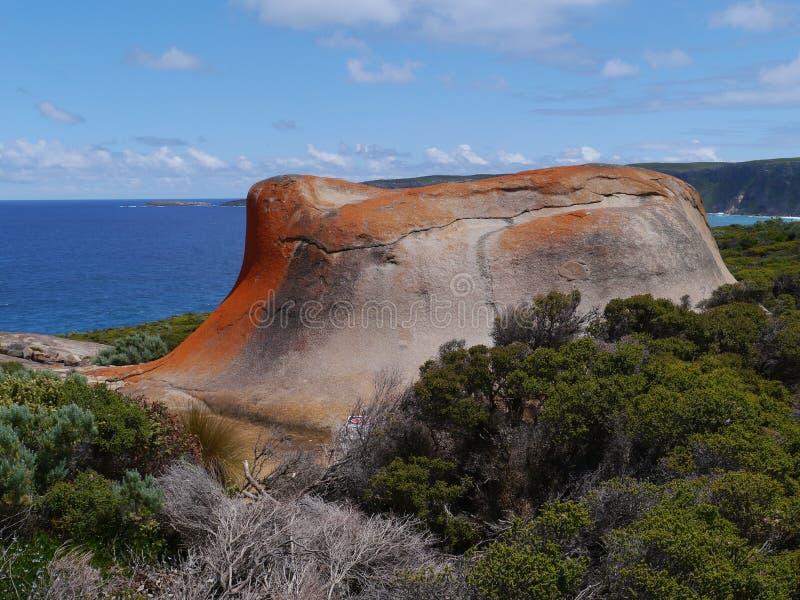 Bemerkenswerte Felsen Känguruinsel stockbild