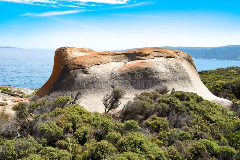 Bemerkenswerte Felsen, Teil bemerkenswerte Felsen, Känguru-Insel, Australien lizenzfreies stockbild