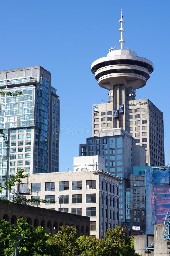 Bemerkenswerter Wolkenkratzer in Vancouver lizenzfreie stockbilder