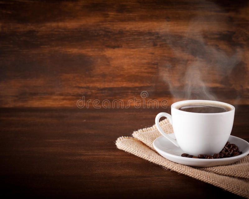 Bemerkte koffie stock foto's