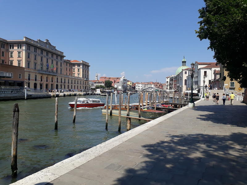 Benà ¡ tky Venezia fotografia royalty free