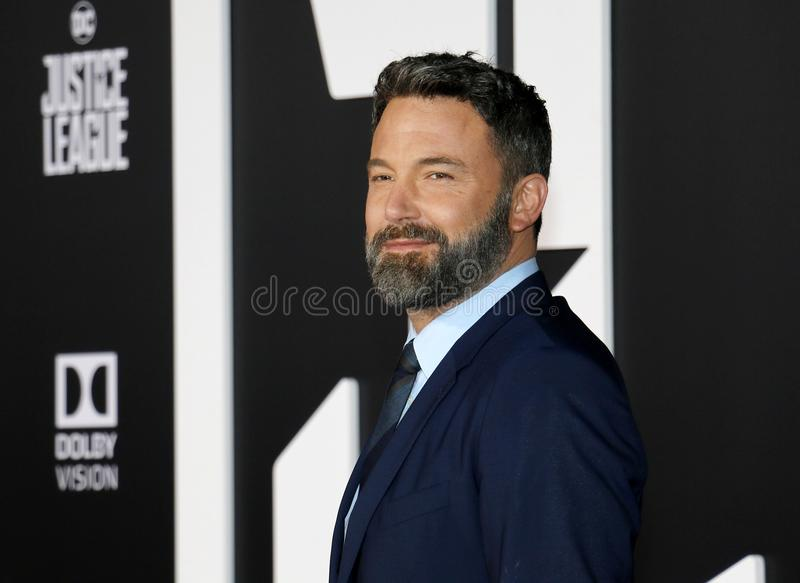 Ben Affleck immagine stock