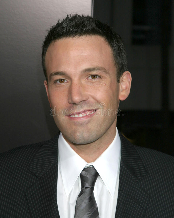 Ben Affleck Editorial Stock Image