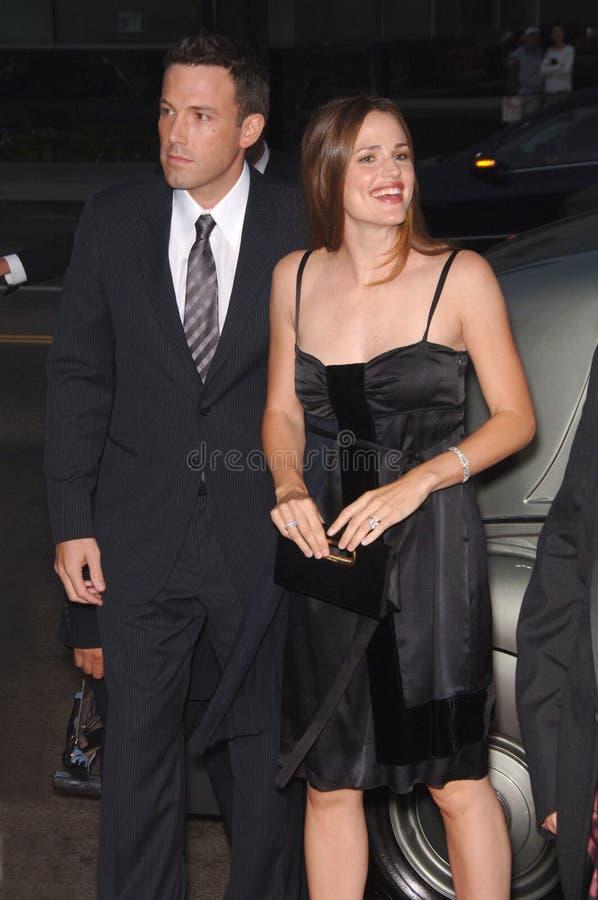 Ben Affleck, Jennifer Garner imagen de archivo libre de regalías
