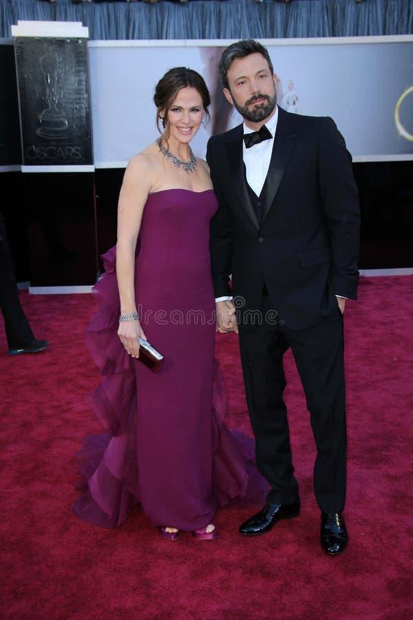 Ben Affleck, Jennifer Garner foto de archivo