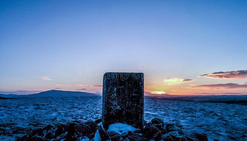 Ben Aigen Sun Set foto de stock royalty free