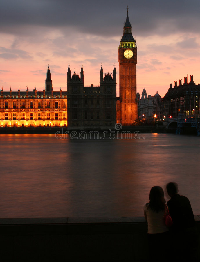 ben big sunset στοκ φωτογραφία με δικαίωμα ελεύθερης χρήσης
