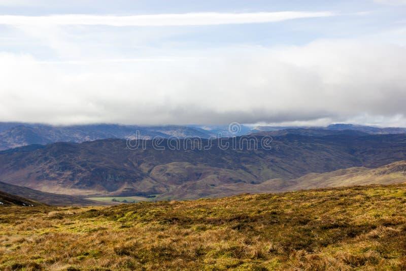 Ben Chonzie Landscape Skottland arkivbild