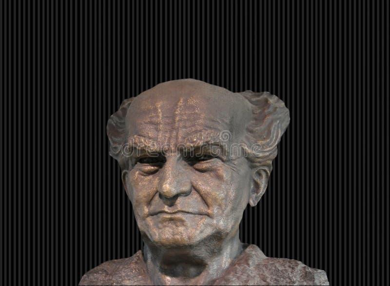 ben David Gurion zdjęcie royalty free