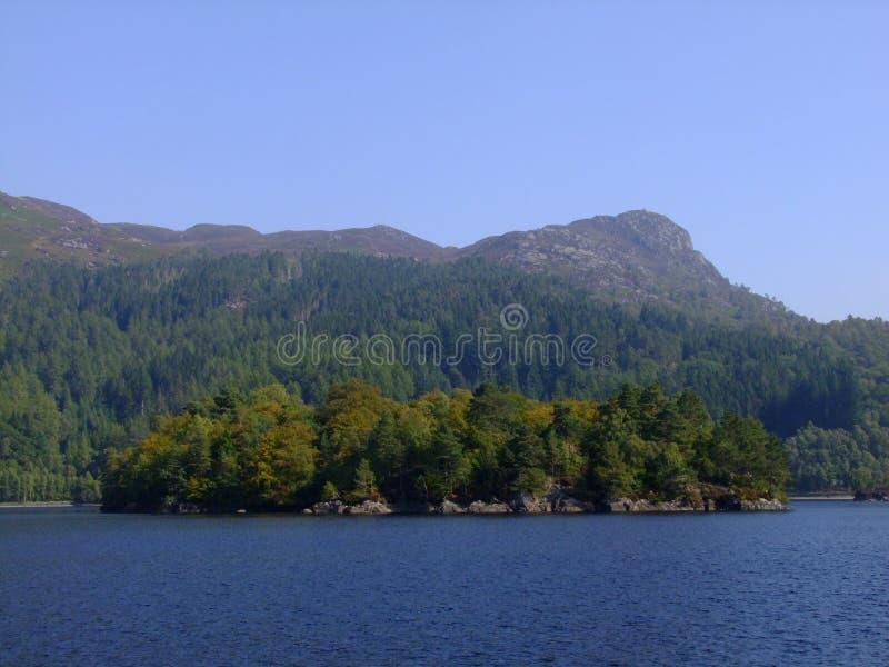 Ben A'an do Loch Katrine fotos de stock royalty free