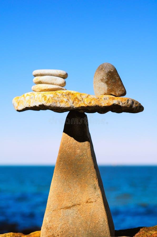 Ben equilibrato fotografia stock libera da diritti