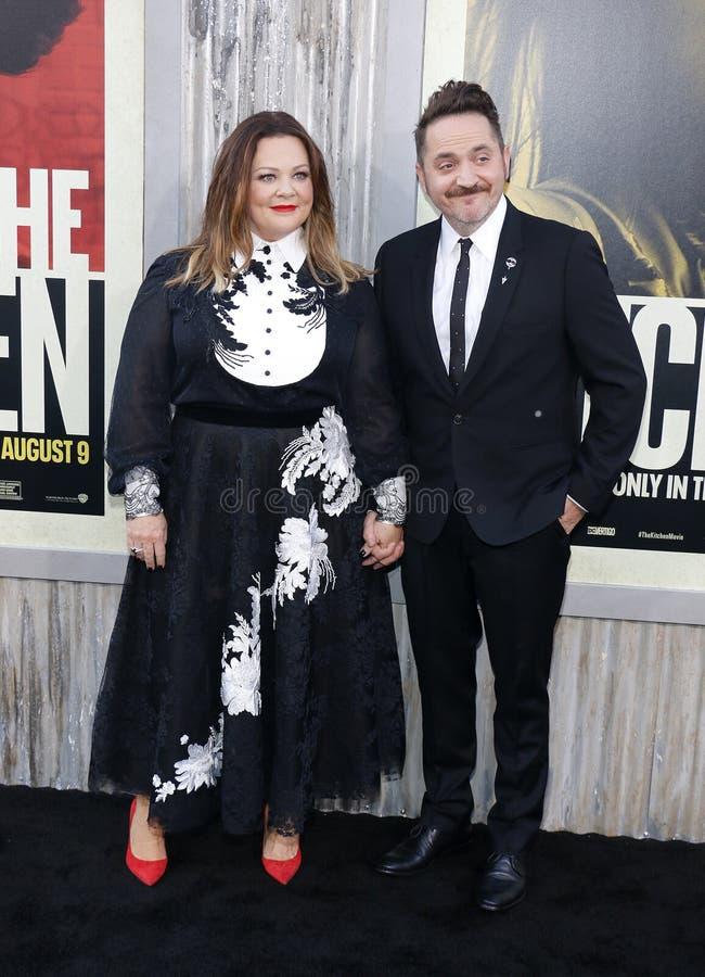 Ben Falcone i Melissa McCarthy zdjęcie stock