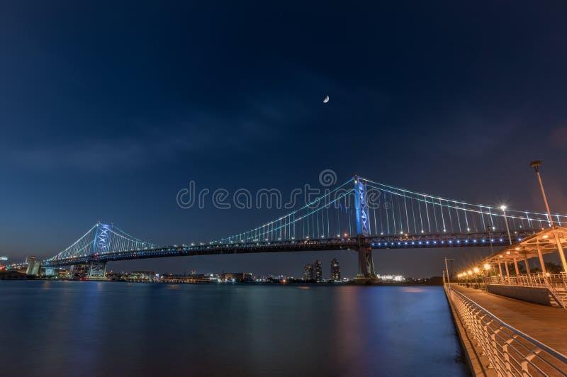 Ben Franklin Bridge stock photos