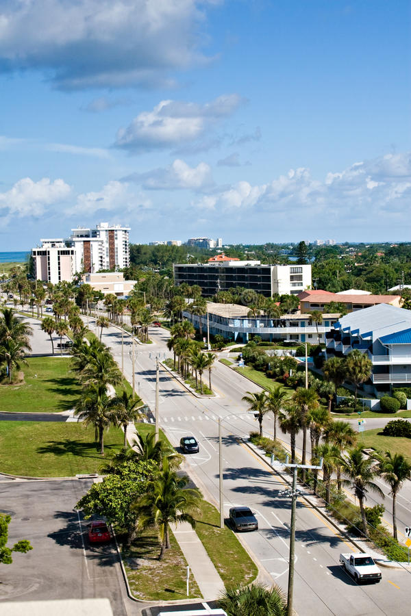 Download Ben Franklin Drive In Sarasota, Florida Stock Photo - Image: 10516858