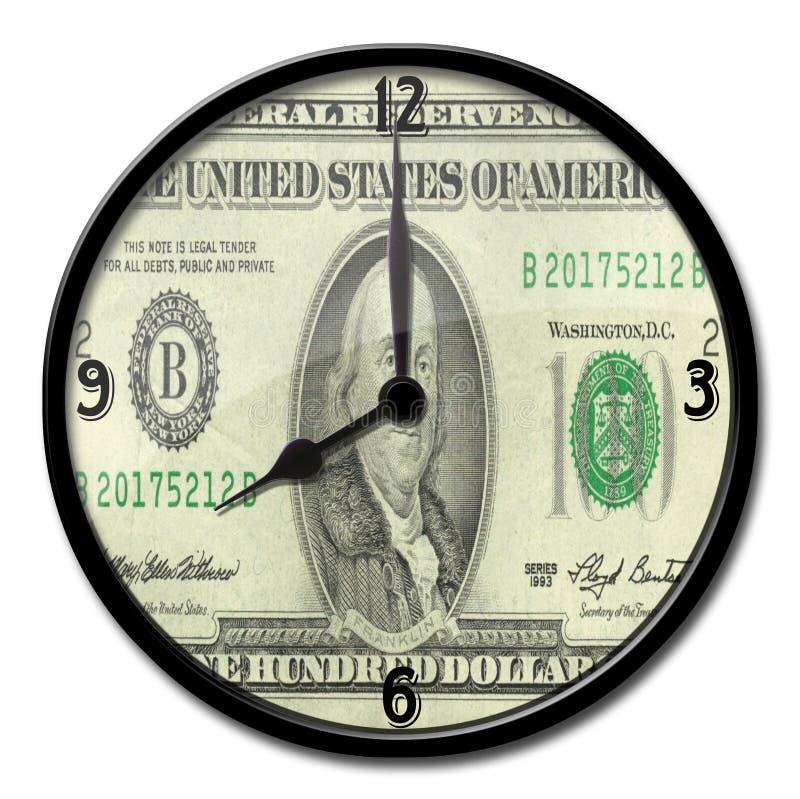 ben Franklin zegar. zdjęcie royalty free