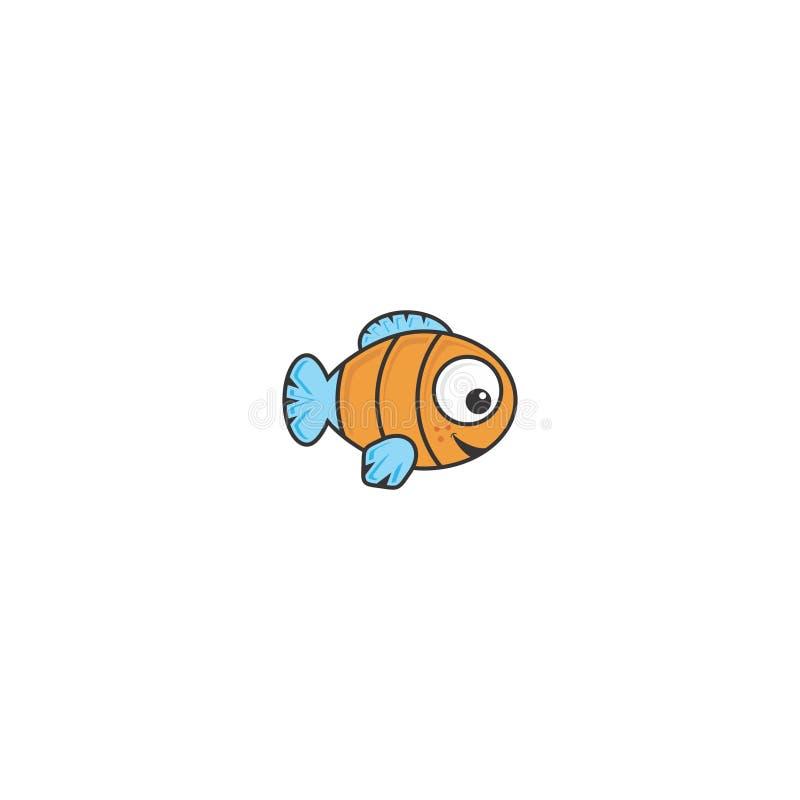 Ben gelukkige vissen royalty-vrije stock foto