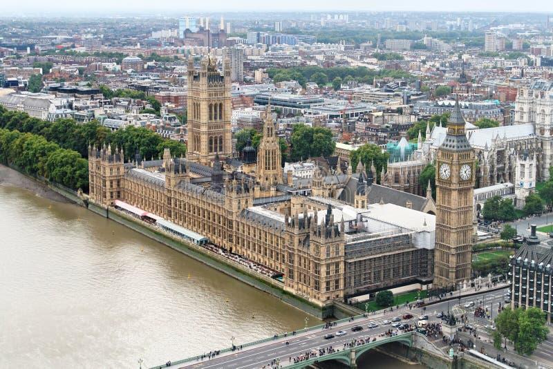Ben grande e casa do parlamento imagem de stock