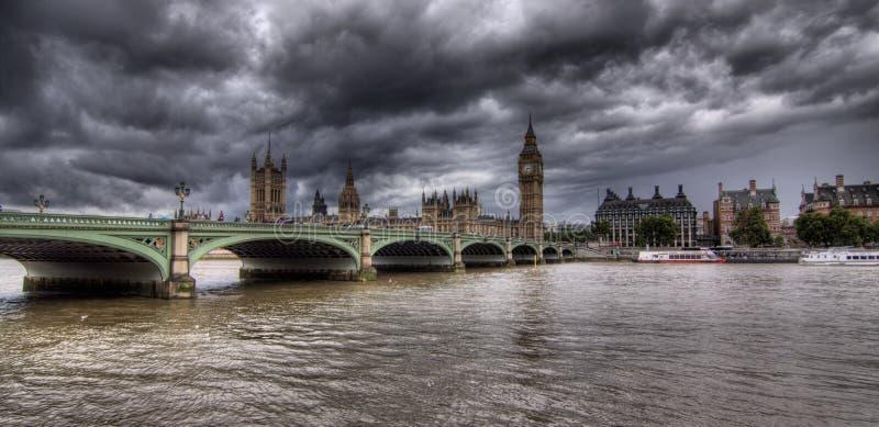 Ben grande e casa do parlamento fotografia de stock